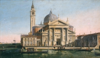 Before treatment: 'Church of S Giorgio Maggiore, Venice'